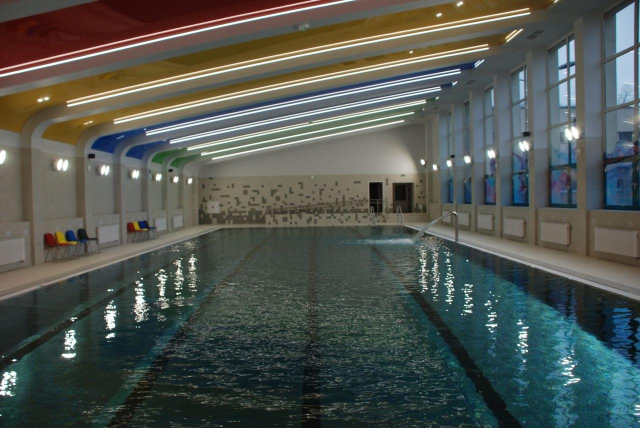 Remont basenu w Słupi.