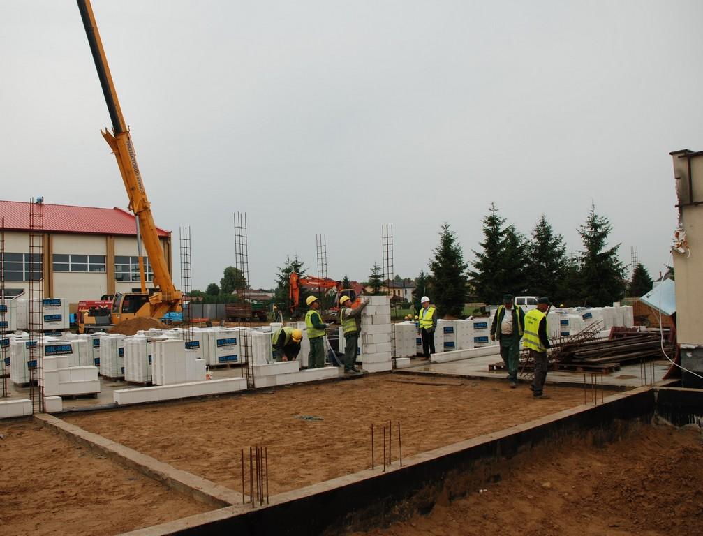 Budowa Przedszkola Publicznego z oddziałem żłobkowym w Doruchowie.