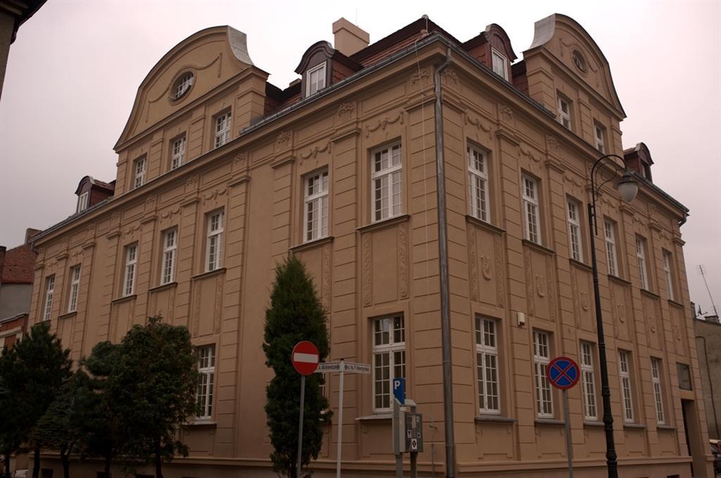 Renowacja elewacji budynku Spółdzielczego Banku Ludowego.