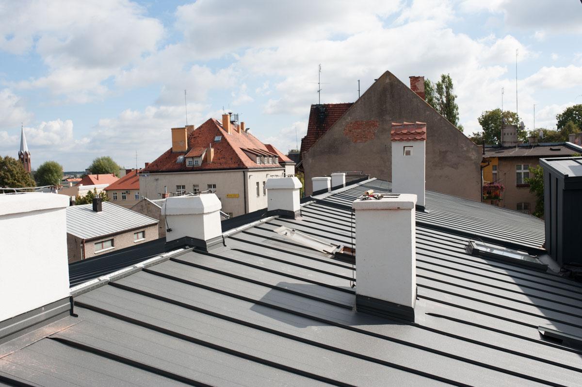 Remont dachu przedszkola w Kępnie.