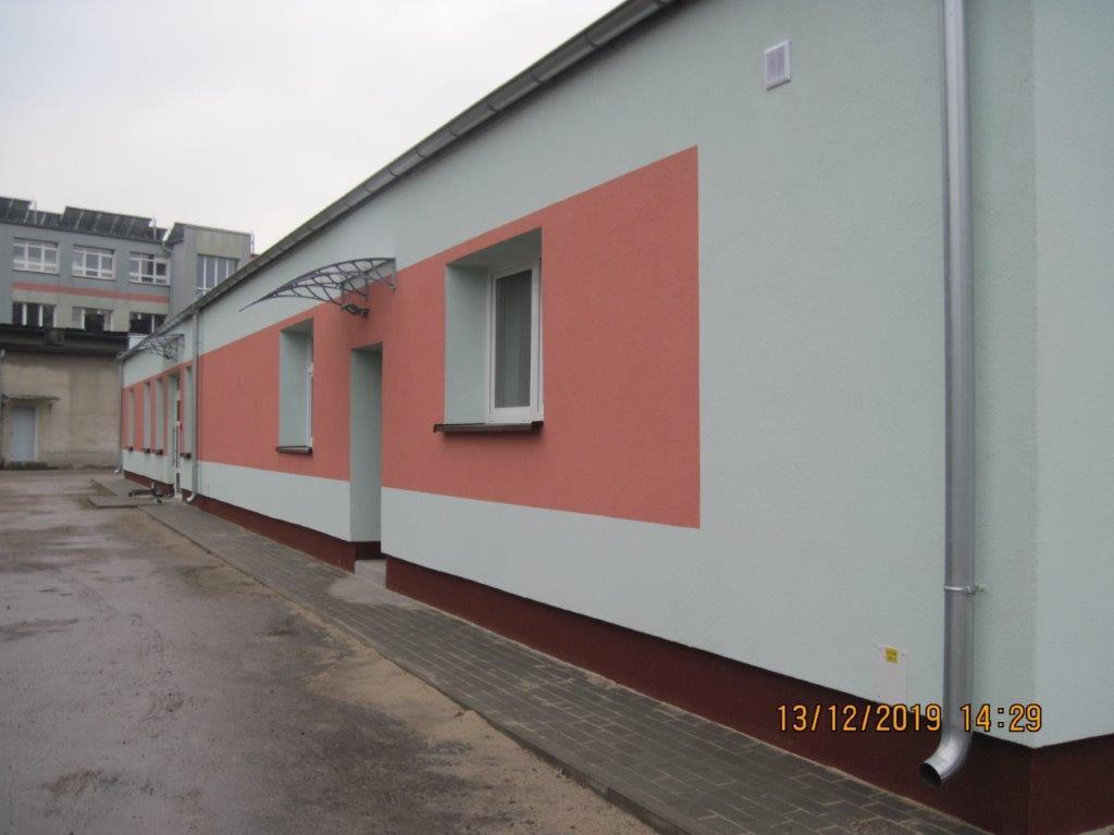 Remont szpitala w Ostrzeszowie.