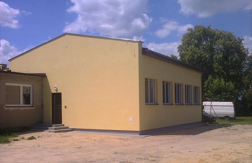 Rozbudowa szkoły w Niwiskach.
